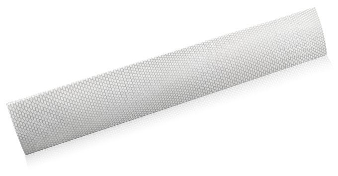 warped hex aluminum finish