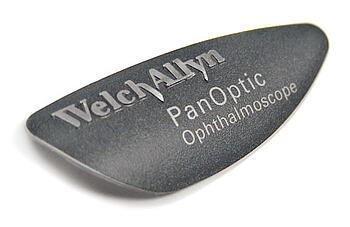 Welch Allyn PanOptic nameplate