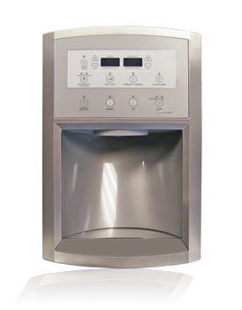 Whirlpool water & ice appliance trim