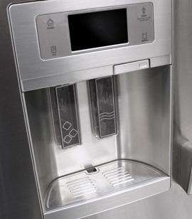 whirlpool refrigerator aluminum trim