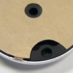 back of molded Yamaha nameplate