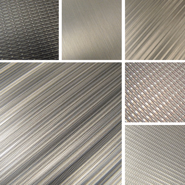 Refined Surface Collection | woven metal surfaces