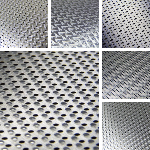 Performance Surface Collection | Geometric structure in metal patterns