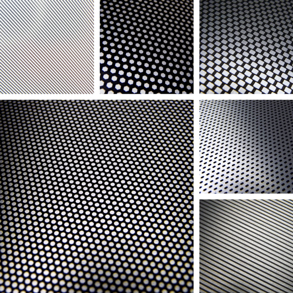 Simplicity Surface Collection | Basic shapes translated to metal patterns