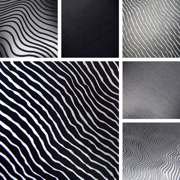 Strata Surface Collectoin | organic linear finishes