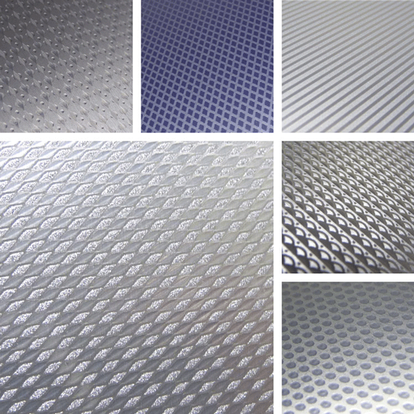 Precise Surface Collection | Tone on tone structures on aluminum