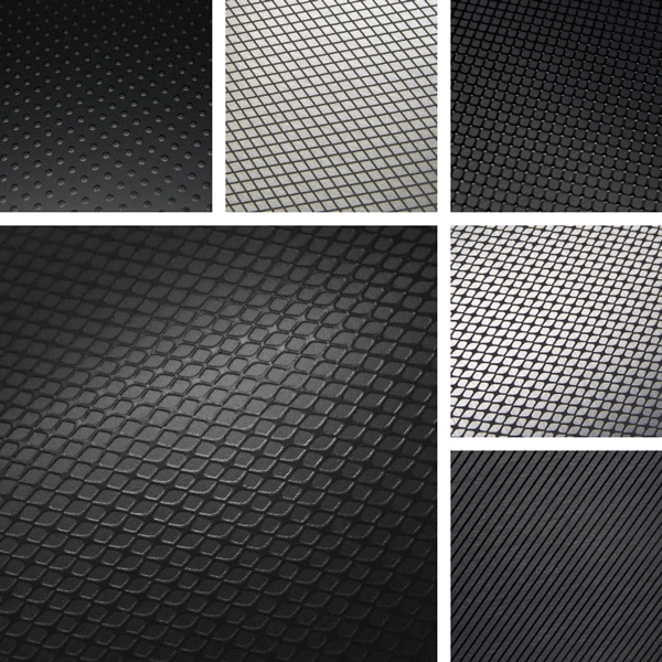 Measured Surface Collection | Basic black textures on aluminum