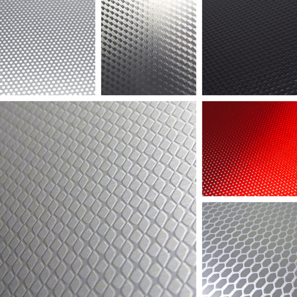 Technical Surface Collection | Simple geometric structures on aluminum