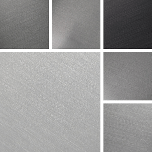 Cool Metal Surface Collection | Cool gray tints on aluminum