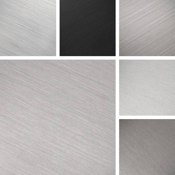 Warm Metal Surface Collection | warm gray tints on aluminum