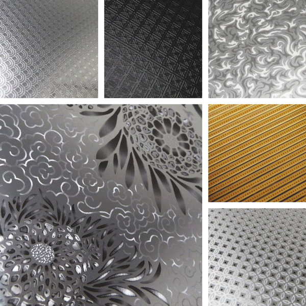 Bejeweled Surface Collection | Intricate detail on metal