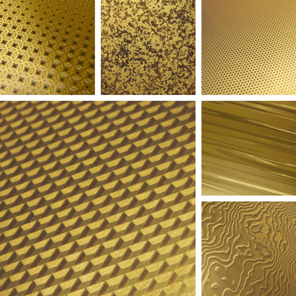 Glowing Surface Collection | Jewel-like surfaces on aluminum