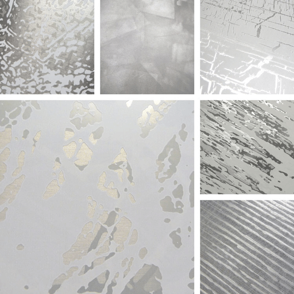 Emerge Surface Collection | natural textures on aluminum