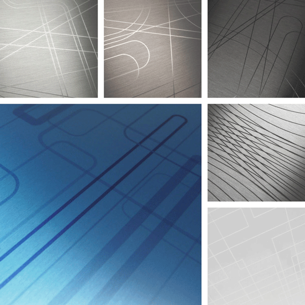 Sequence Surface Collection | laser-etched precision on brushed aluminum