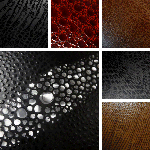 Faux Real Surface Collection | animal skins translated to aluminum patterns