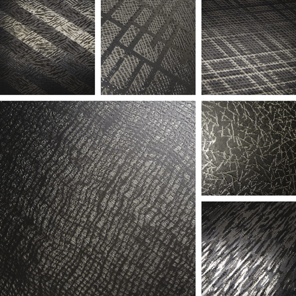 Conversation Piece Surface Collection | Organic woven structures on aluminum