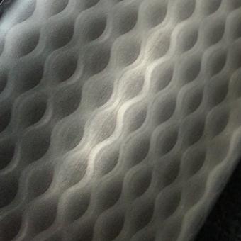 dimensional aluminum pattern