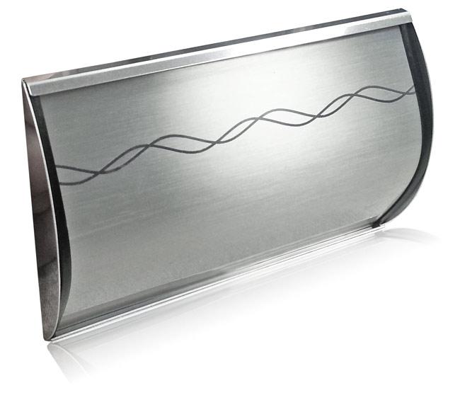 DES-1501-D, brushed aluminum finish