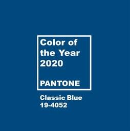 Pantone 2020-Classic Blue