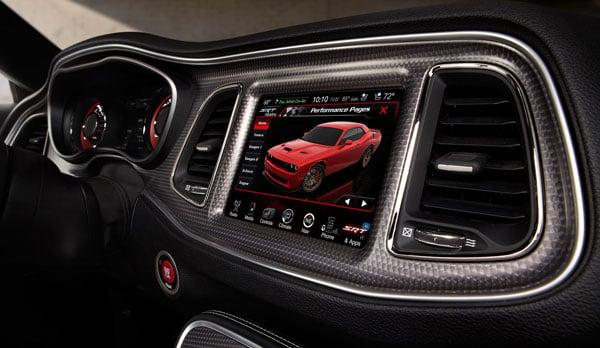 Dodge Challenger Fast Furious 7 interior trim