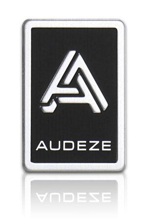 embossed aluminum nameplate for electronic audio headphones