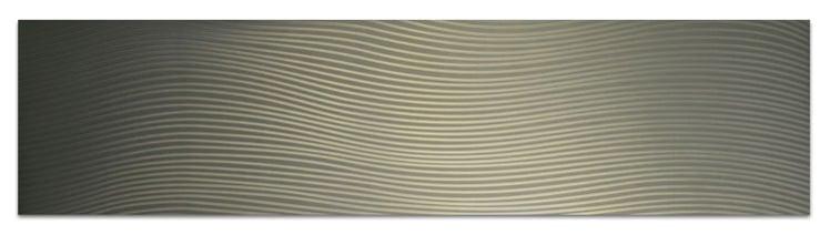 linear pattern on aluminum trim PAT-3430-B