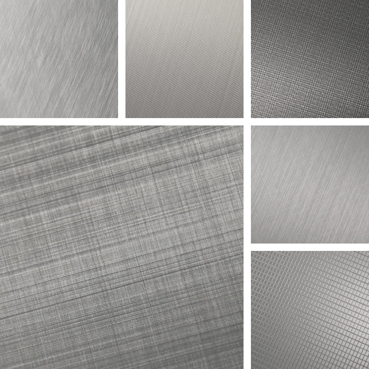 Calm and Subtle Aluminum Finishes Surface Collection