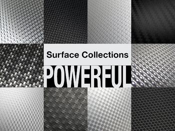 Bold and Powerful Patterns on Aluminum compiled into eBook
