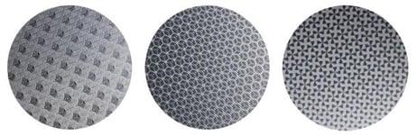 PAT-4600-A PAT-4881-A PAT-4886-A textured patterns on aluminum