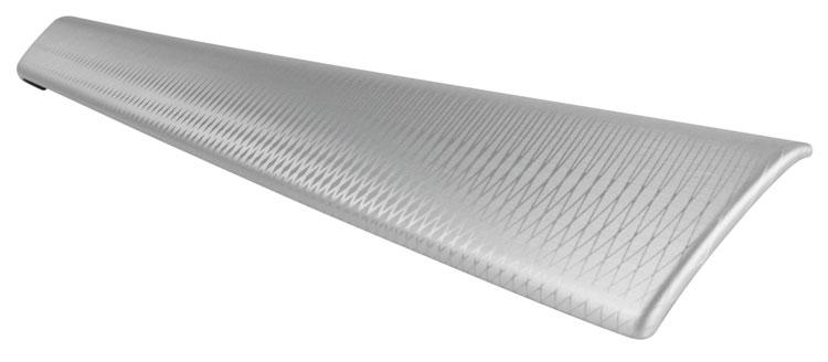 Laser Etch Look on Aluminum Trim