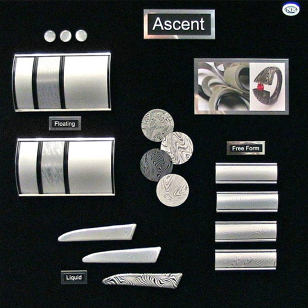 Ascent Etched Silver