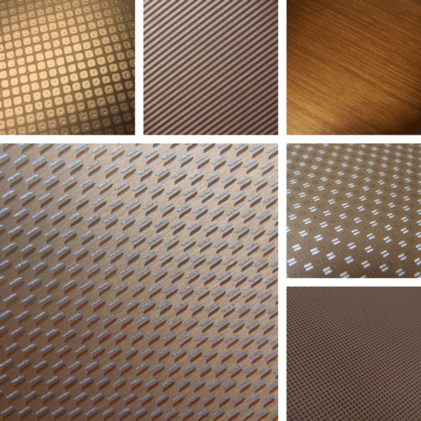 Sensory | Aluminum Surface Collection