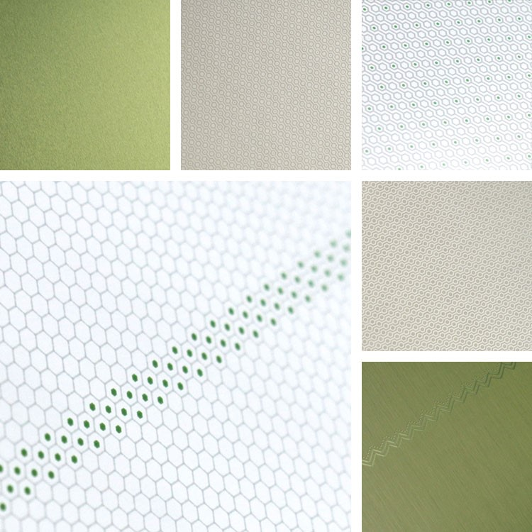 Greenery Aluminum Surface Collection